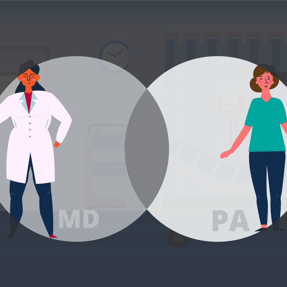 PA vs. MD: Which Medical Career Is Right for You? Square
