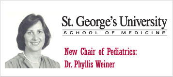 Dr  Phyllis Weiner: New Chair of Pediatrics | St  George's