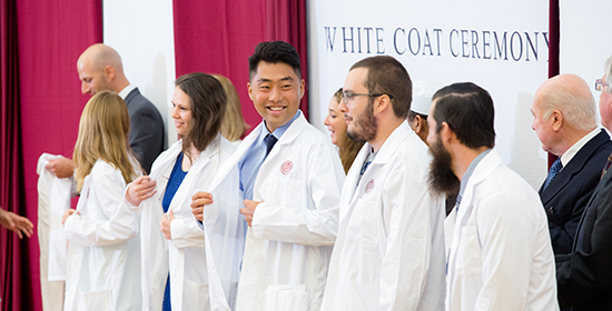 svm white coat ceremony august 2016 group of students