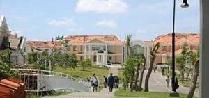 Campus Shot After Hurricane Ivan