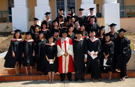 charles modica with 2007 sas sgp graduating class