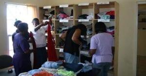 Clothing Releif Efforts for Hurricane Ivan