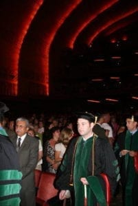 Commencement Students Walking
