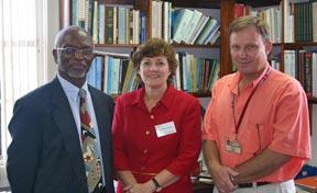 Dr. Denis Paul, Dr. Periago, and Dr. Macpherson