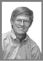 Dr Eric Ottesen Black and White Portrait