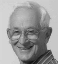 Dr John Rouben David Black and White Portrait