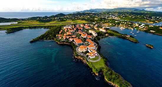 SGU campus aerial