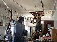 WINDREF Volunteers Cleaning Hurricane Ivan