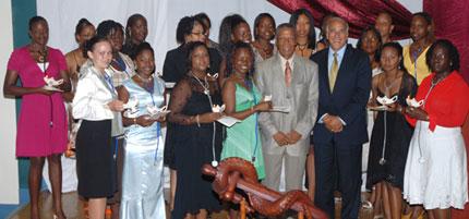 inaugural nursing program students