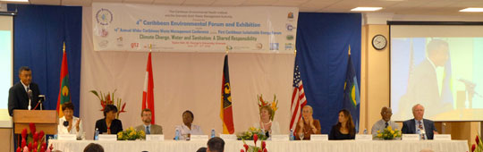 environmental conference panel
