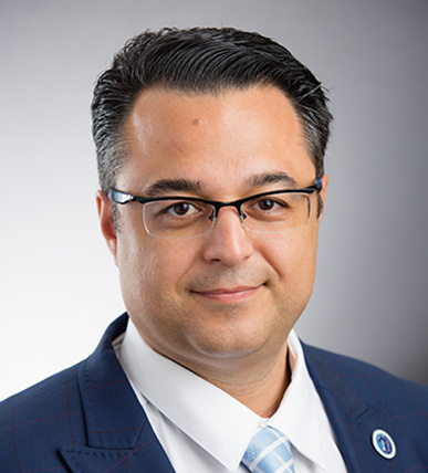 Marios Loukas, Dean of Basic Sciences.