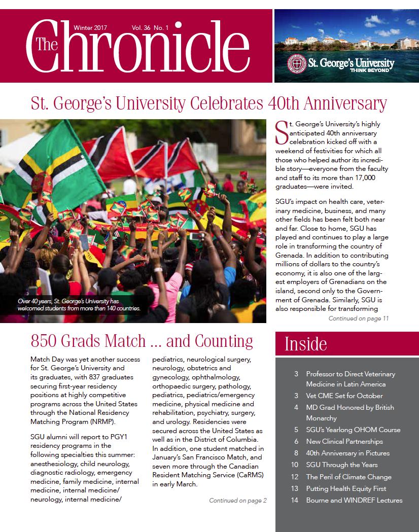 Publications Archive | St  George's University