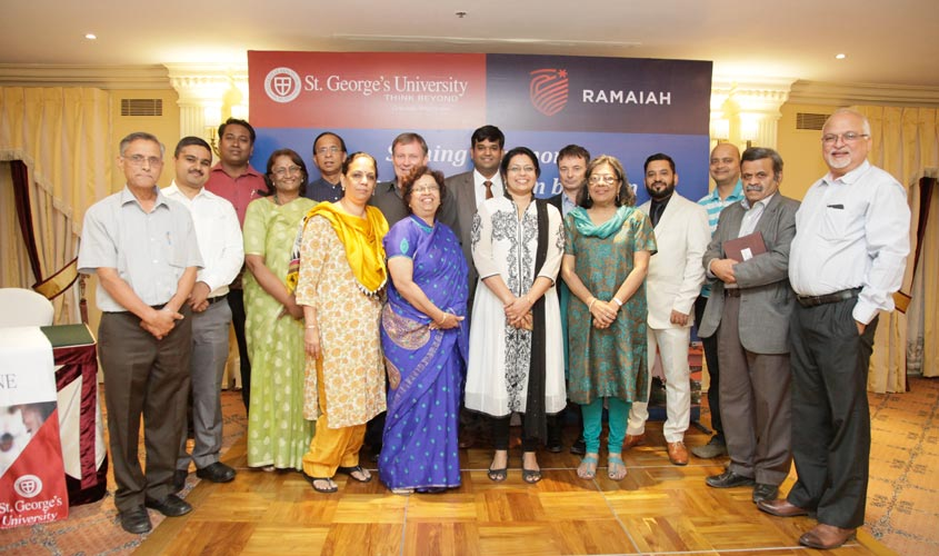 Ramaiah Group of Institutions Bangalore India signs Memorandum of Understanding with St. George's University