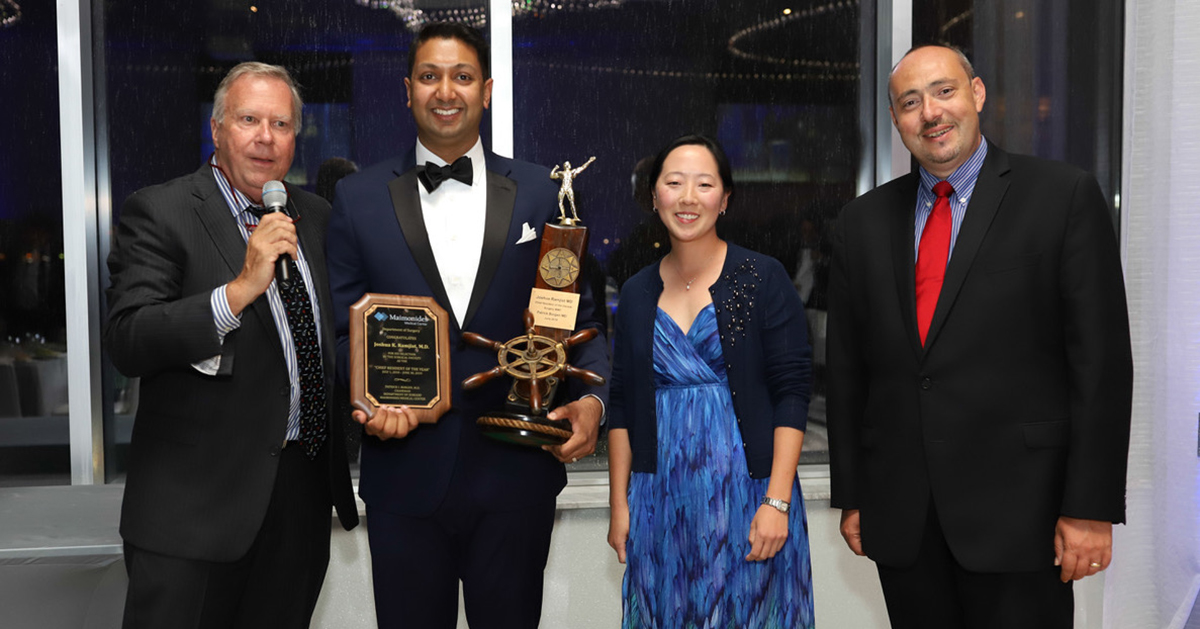 MD Grad Recognized as Chief Resident of the Decade at