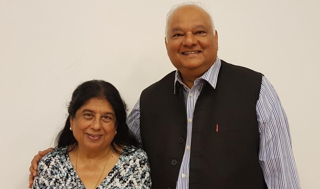 Bharti Bhusnurmath and Shivayogi Bhusnurmath.