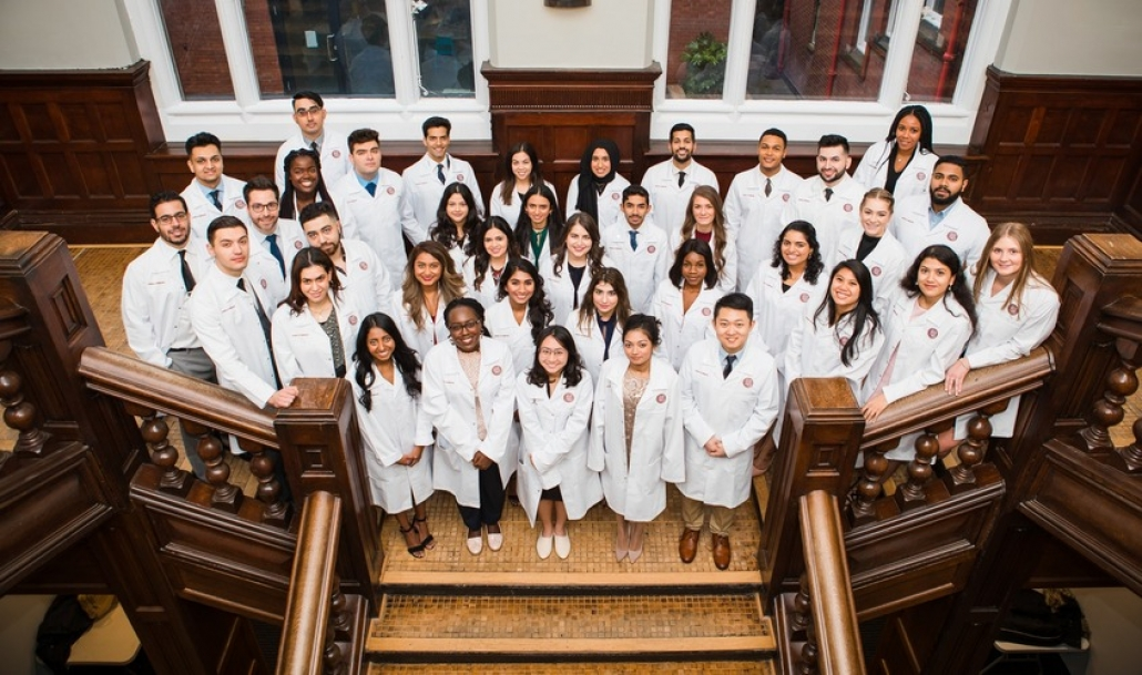 Thirty-eight students commit themselves to the medical profession with last month's White Coat Ceremony in the UK, part of St. George's University of Grenada School of Medicine/Northumbria University Four-Year MD Program.