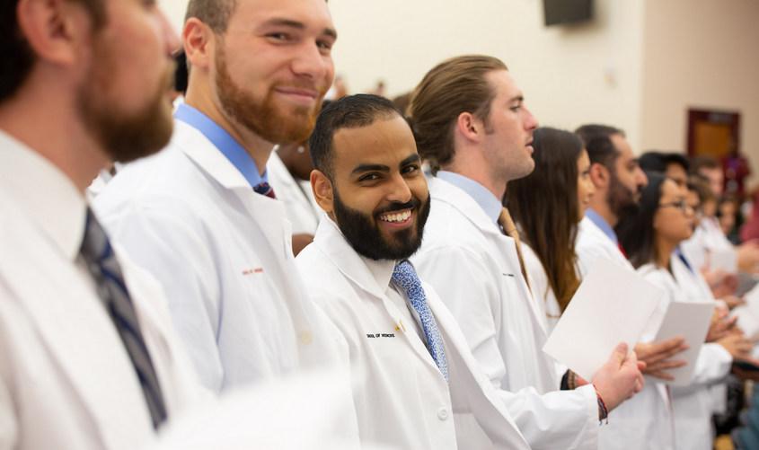 SGU School of Medicine getting White Coats in Caribbean
