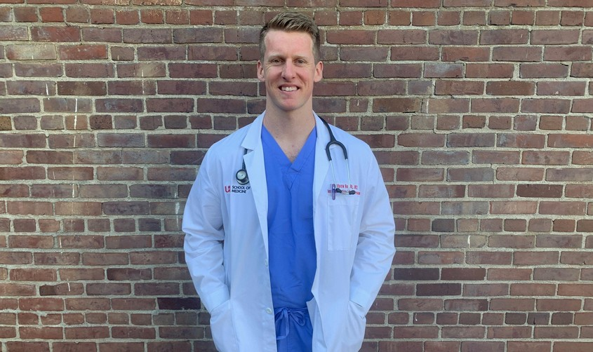 Matt Heckroth, MD '19, IM resident
