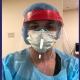 Megan Kwasniak, MD '08, an emergency medicine physician at Saint Mary's Medical Center in West Palm Beach, FL
