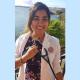 Lucinda Dass, SOM student, creator of WASH training manual