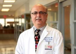 Dr. Ninad Desai, chair of pediatrics, School of Medicine