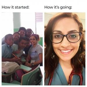 how SGU school of medicine student started